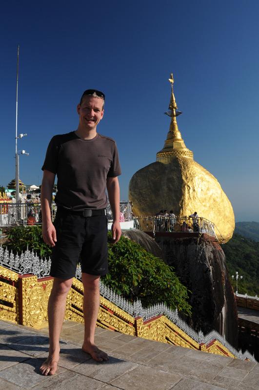 Heiko Meyer, Golden Rock, Goldener Felsen von Kyaiktiyo, Kyaikhtiyo, Myanmar, Burma, Birma, Pilgerfahrt, Pagode, Pagoda, buddhistischer Tempel, Reisebericht, www.wo-der-peffer-waechst.de
