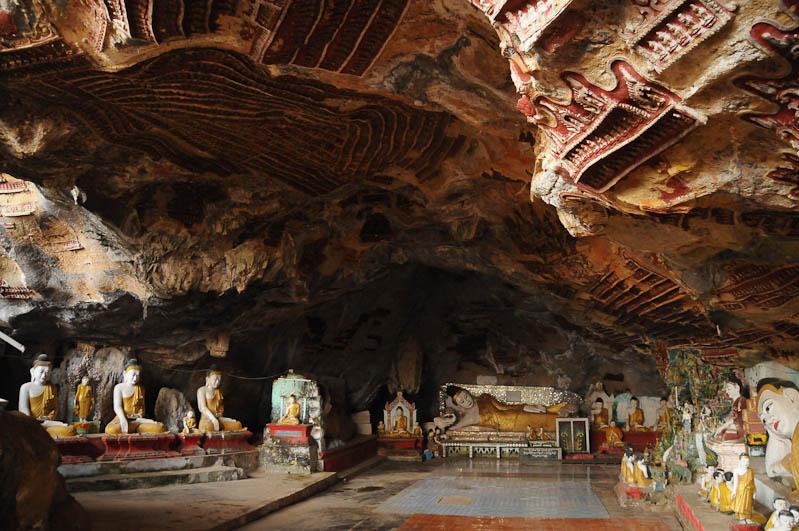 Kawt Gon-Höhle, Cave, Hpa An, Karen, Kayin, Staat, State, Buddha, Myanmar, Burma, Birma, Reiseberichte, www.wo-der-pfeffer-waechst.de
