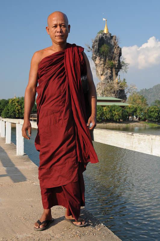 Kyauk Ka Lat-Pagode, Hpa An, Karen, Kayin, Staat, State, Mönche, monk, Myanmar, Burma, Birma, Reiseberichte, www.wo-der-pfeffer-waechst.de