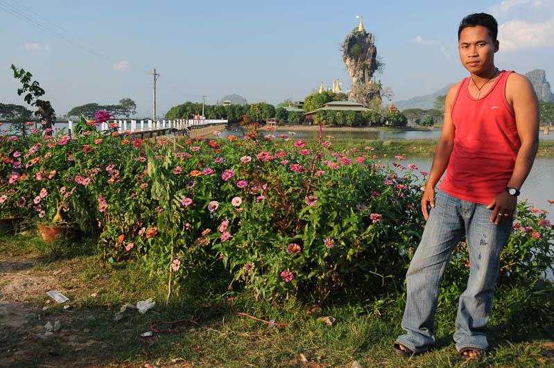 Kyauk Ka Lat-Pagode, Hpa An, Karen, Kayin, Staat, State, Besucher, Myanmar, Burma, Birma, Reiseberichte, www.wo-der-pfeffer-waechst.de