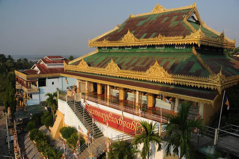 Mawlamyine, Moulmein, Kyaik Thanlan-Pagode, Pagoda, Tempel, Myanmar, Burma, Birma, Reisebericht, www.wo-der-pfeffer-waechst.de
