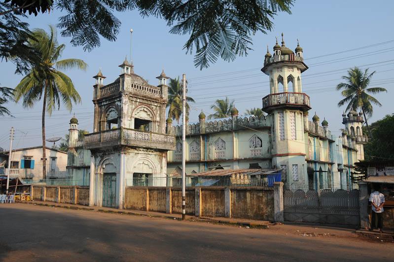 Mawlamyine, Moulmein, Moschee, Mosque, Myanmar, Burma, Birma, Reisebericht, www.wo-der-pfeffer-waechst.de