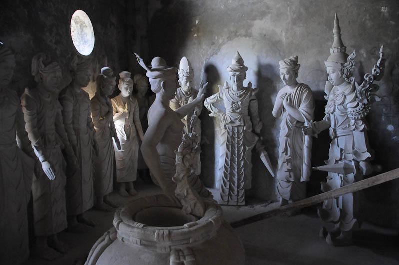 Mudon, reclining buddha, giant, liegender Buddha, Myanmar, Burma, Birma, Reisebericht, www.wo-der-pfeffer-waechst.de