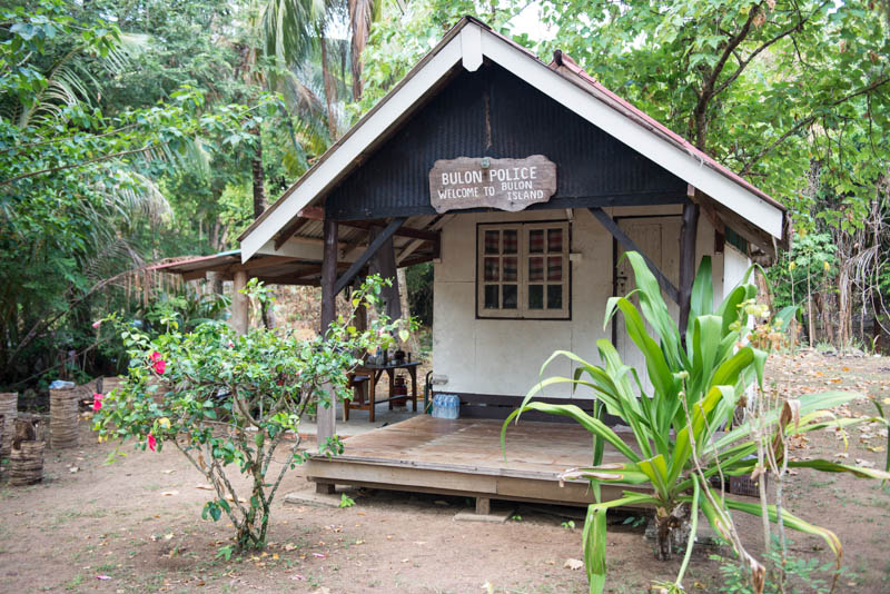Koh Bulon, Ko Bulon, Leh, Lae, Thailand, Polizei, Police, Insel, Andamanensee, Bilder, Fotos, Reiseberichte, www.wo-der-pfeffer-waechst.de
