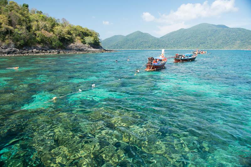 Koh Lipe, Ko Lipe, Thailand, Adang-Archipel, Tarutao, Nationalpark, Wasser, Schnorcheltour, Bootsausflüge, Korallen, Reiseberichte, www.wo-der-pfeffer-waechst.de