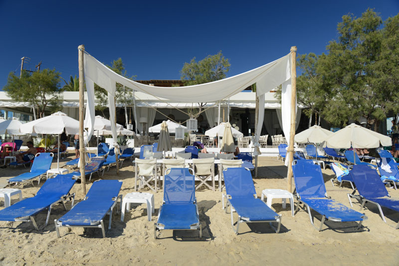 Naxos, Agios Anna Beach, Bar, Strand, Strände, Kykladen, Griechenland, Inselhüpfen, Island-Hopping, griechische, Inseln, Mittelmeer, Bilder, Fotos, Reiseberichte, www.wo-der-pfeffer-waechst.de