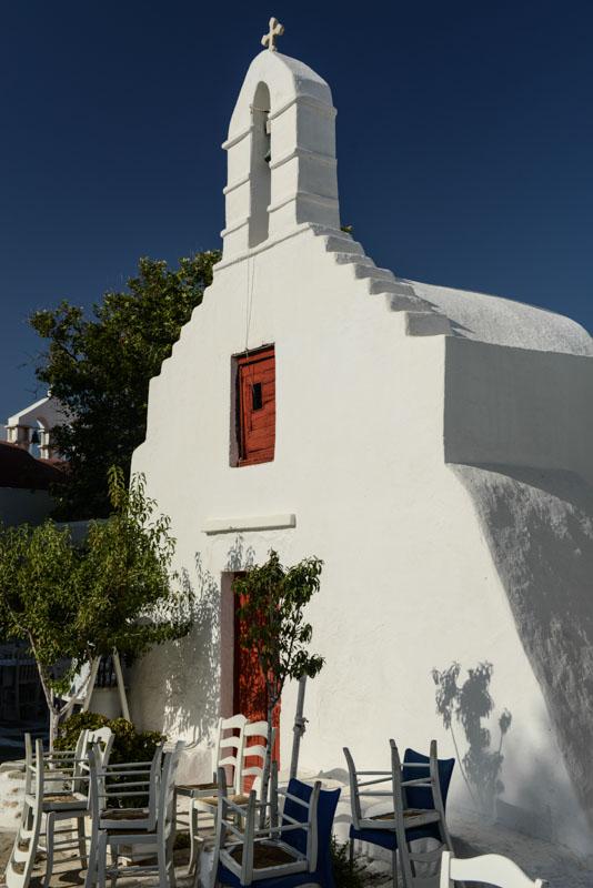 Mykonos, Mykonos-Stadt, Kirche, church, Kykladen, Griechenland, Inselhüpfen, Island-Hopping, griechische Inseln, Mittelmeer, Bilder, Fotos, Reiseberichte, www.wo-der-pfeffer-waechst.de