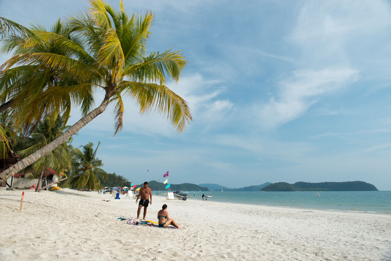 Pulau Langkawi, Insel, Malaysia, Strand, Strände, Beach, Pantai Cenang, Reiseberichte, www.wo-der-pfeffer-waechst.de