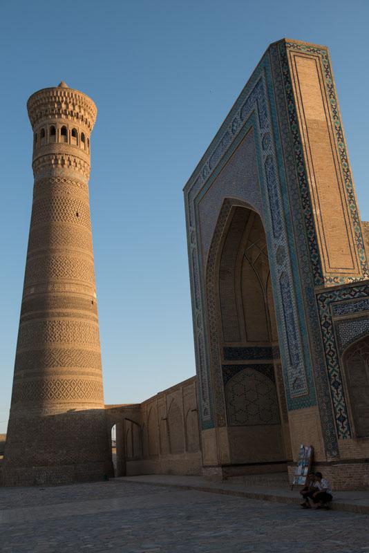 Buchara, Bukhara, Buxoro, Reisen, entlang der, Seidenstraße, Usbekistan, Zentralasien, Kalon-Minarett, Reiseberichte, www.wo-der-pfeffer-waechst.de