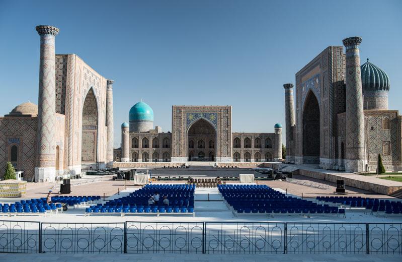 Samarkand, Samarqand, Reisen, entlang der, Seidenstraße, Usbekistan, Zentralasien, Registan, Registran, Registon, Medresse, Madrasa, Reiseberichte, www.wo-der-pfeffer-waechst.de