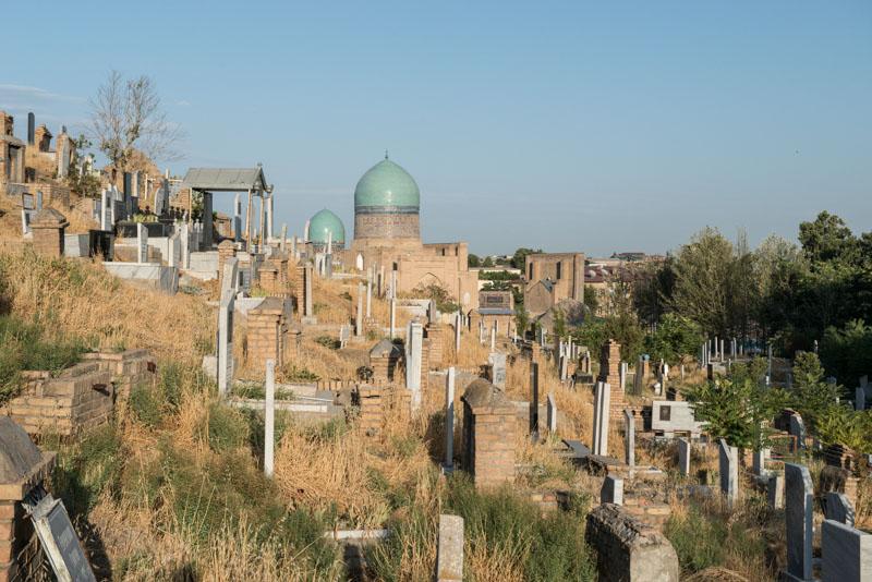 Sha-i-Sinda, Schah-i-Sinda, Nekropole, Gräberstadt, Necropolis, Friedhof, Samarkand, Samarqand, Reisen, entlang der, Seidenstraße, Usbekistan, Zentralasien, Reiseberichte, www.wo-der-pfeffer-waechst.de