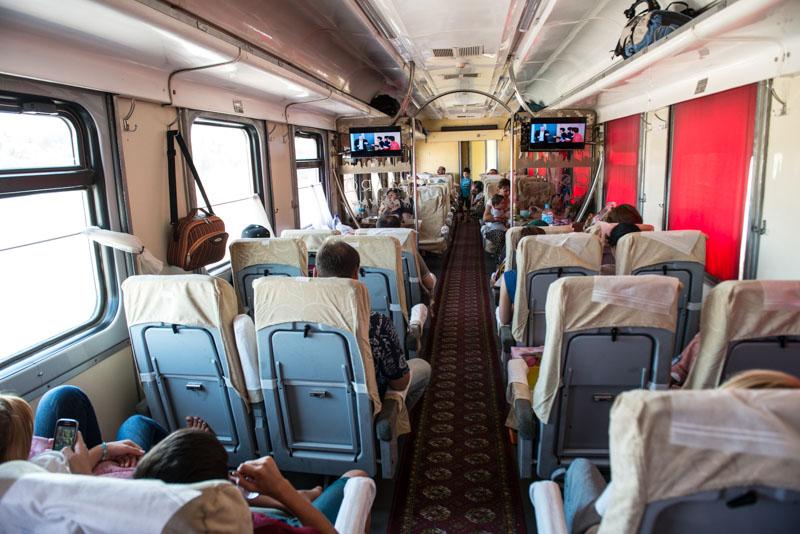 Sharq Express, Train, Zug, Samarkand, Buchara, Taschkent, Reisen, entlang der, Seidenstraße, Usbekistan, Zentralasien, Reiseberichte, www.wo-der-pfeffer-waechst.de