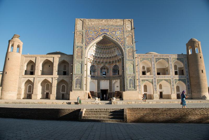 Buchara, Bukhara, Buxoro, Reisen, entlang der, Seidenstraße, Usbekistan, Zentralasien, Ulug-Beg-Medresse, Madrasa, Reiseberichte, www.wo-der-pfeffer-waechst.de