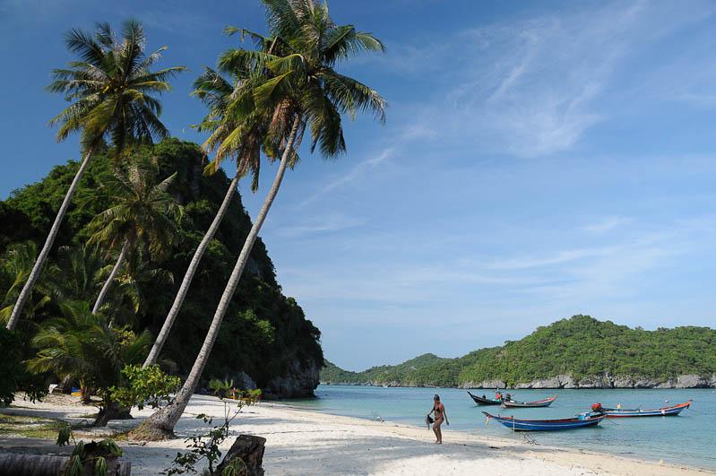 Thailand-Reise, Insel, Ang Thong National Marine Park, Tour, Trip, Koh Wua Talap, Beach, Strände, Reisen mit Kindern, Babys, Kleinkindern, Elternzeit, Asien, Reiseberichte, Reiseblogger, www.wo-der-pfeffer-waechst.de