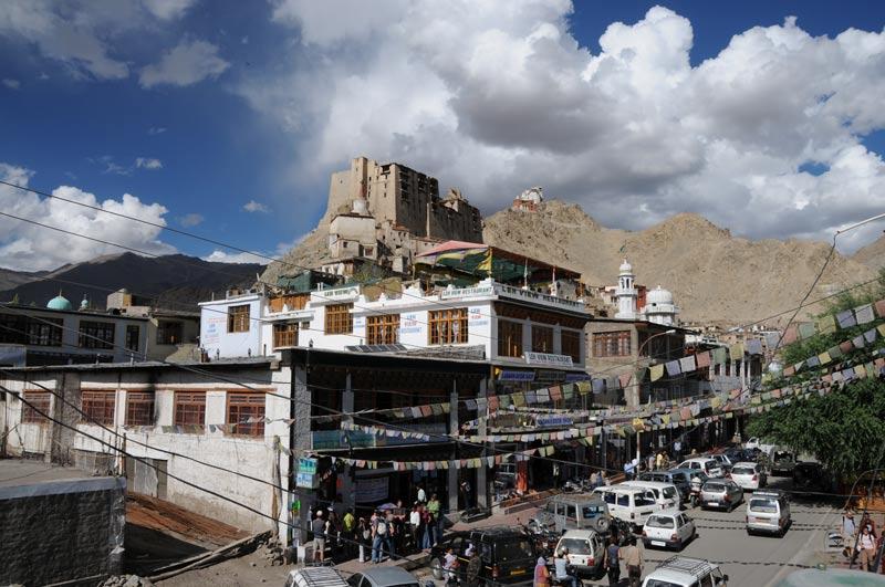Leh, Leh-Palast, Ladakh, Indien, indischer Himalaya, Himalaja-Gebirge, Jammu und Kashmir, Reisetipps, Rundreisen, Asien, Reiseberichte, Reiseblogger, www.wo-der-pfeffer-waechst.de