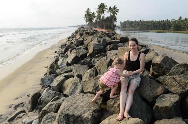 Kapill Beach, Ausflüge, Touren, Varkala, Indien, Südindien, Kerala, Reisetipps, Reisen mit Kindern, Rundreisen, Asien, Reiseberichte, Reiseblogger, www.wo-der-pfeffer-waechst.de