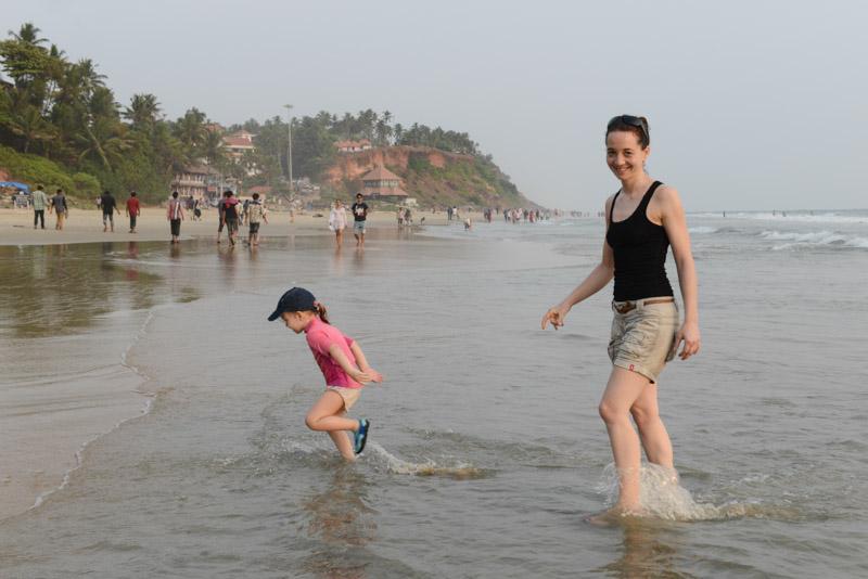 Varkala Beach, Indien, Südindien, Kerala, Strände, Cliff, Reisetipps, Reisen mit Kindern und Babys, Elternzeit, Rundreisen, Asien, Reiseberichte, Reiseblogger, www.wo-der-pfeffer-waechst.de