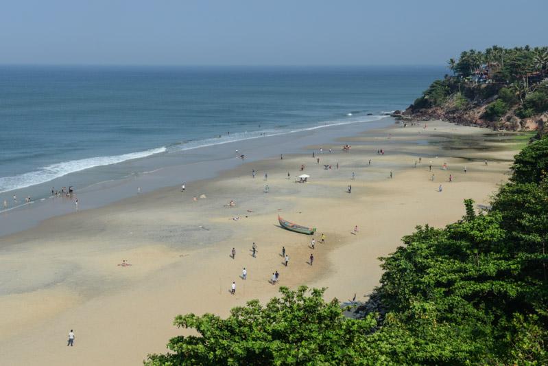 Varkala Beach, Indien, Südindien, Kerala, Strände, North Cliff, Reisetipps, Reisen mit Kindern, Rundreisen, Asien, Reiseberichte, Reiseblogger, www.wo-der-pfeffer-waechst.de