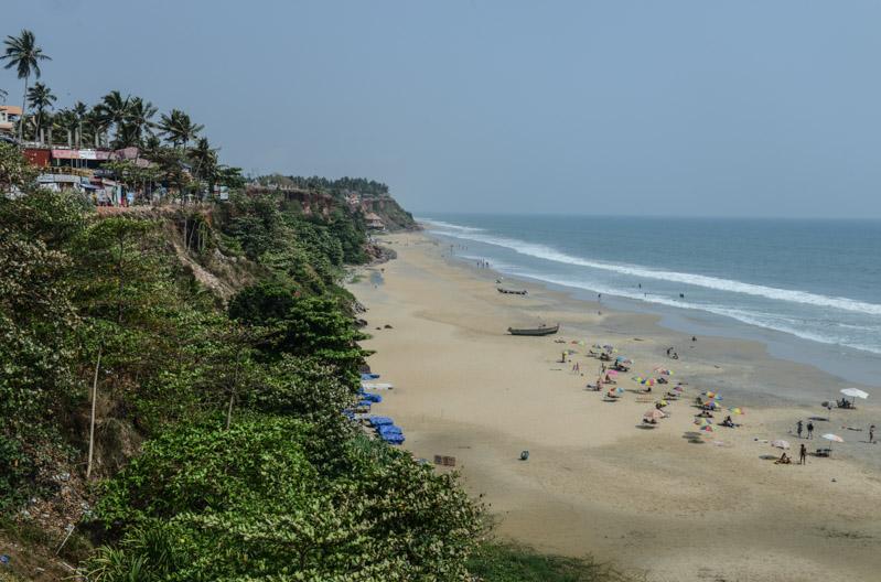 Varkala Beach, Indien, Südindien, Kerala, Strände, Cliff, Reisetipps, Reisen mit Kindern, Rundreisen, Asien, Reiseberichte, Reiseblogger, www.wo-der-pfeffer-waechst.de
