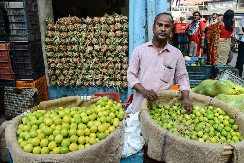 Ernakulam, Market road, Obstmarkt, Kochi, Cochin, Südindien, Kerala, Reisetipps, Reisen mit Kindern, Rundreisen, Südasien, Reiseberichte, Reiseblogger, www.wo-der-pfeffer-waechst.de