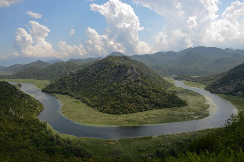 Crnojević, Flussschleife, river, Montenegro, Reisebericht, Reisetipps, Europa, Balkan, Reiseblogger, www.wo-der-pfeffer-waechst.de