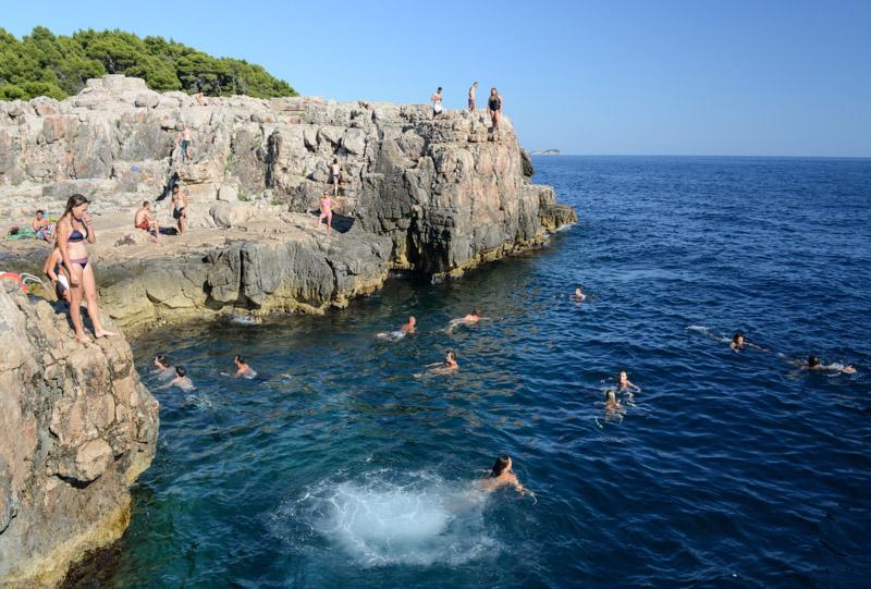Dubrovnik, Kroatien, Croatia, Insel Lokrum, Ausflug, Strand, Strände, Wasser, Adria, Städtetrip, Reisetipps, Rundreisen, Europa, Reiseberichte, Reisen mit Kindern, travel with children, Reiseblogger, www.wo-der-pfeffer-waechst.de