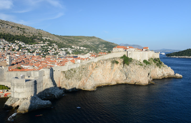Dubrovnik, Kroatien, Croatia, Lovrijenac, Festung, Burg, castle, Stadtmauern, Altstadt, old city, Städtetrip, Reisetipps, Rundreisen, Europa, Reiseberichte, Reisen mit Kindern, Reiseblogger, www.wo-der-pfeffer-waechst.de