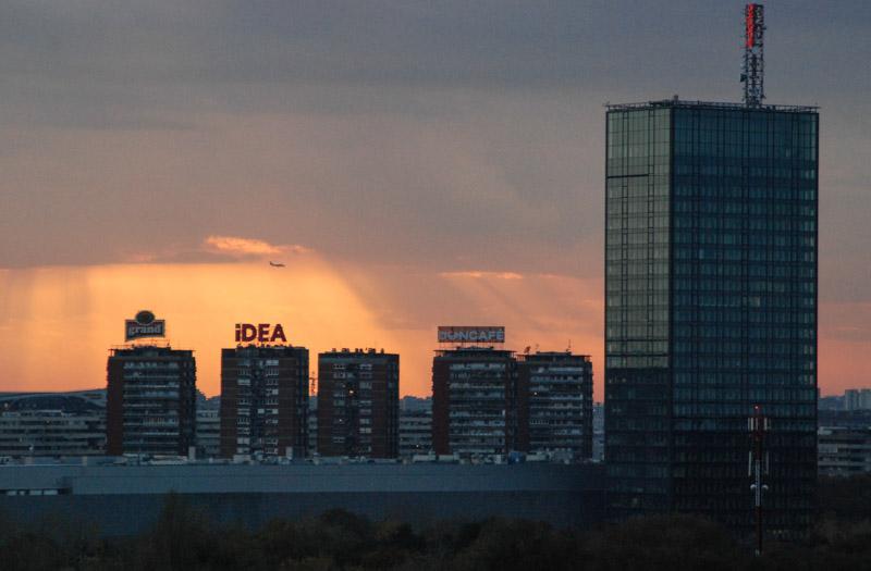 Belgrad, Beograd, Skyline, Panorama, sunset, Sonnenuntergang, Serbien, Serbia, Städtetrip, Hauptstadt, Urlaub, Balkan, Südosteuropa, Reiseberichte, Blog, www.wo-der-pfeffer-waechst.de