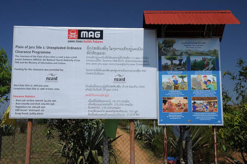 Mines Advisory Group, MAG, UXO, Ebene der Tonkrüge, Plain of Jars, Laos, Nordlaos, Phonsavan, Xieng Khouang, Zweiter Indochinakrieg, Geheimer Krieg, Bomben entschäfen, Reisetipps, Rundreisen, Asien, Reiseberichte, Reiseblogger, www.wo-der-pfeffer-waechst.de
