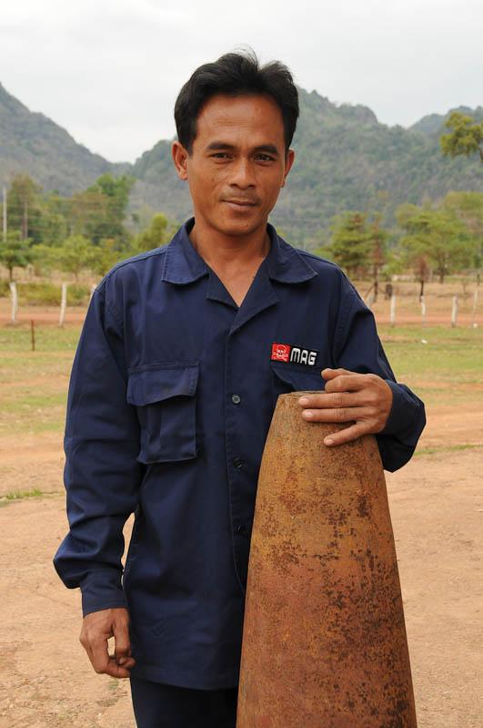 Mines Advisory Group, MAG, Laos, Zentrallaos, Mahaxai, Bomben entschärfen, Minen, The Loop, Reisebericht, laotische Provinz Khammouan, Khammuan, Reisetipps, Rundreisen, Südostasien, Reiseblogger, www.wo-der-pfeffer-waechst.de