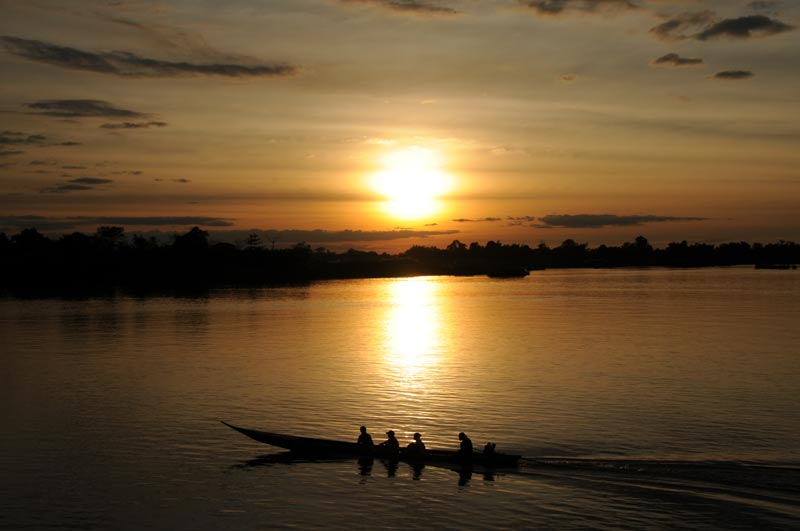 Sonnenuntergang, sunset, Si Phan Don, 4000 Inseln, Viertausend Inseln, Südlaos, Southern, Laos, Süden, Mekong, Don Det, Reiseziele, Reiseberichte, Reisetipps, Rundreisen, Südostasien, Reiseblogger, www.wo-der-pfeffer-waechst.de