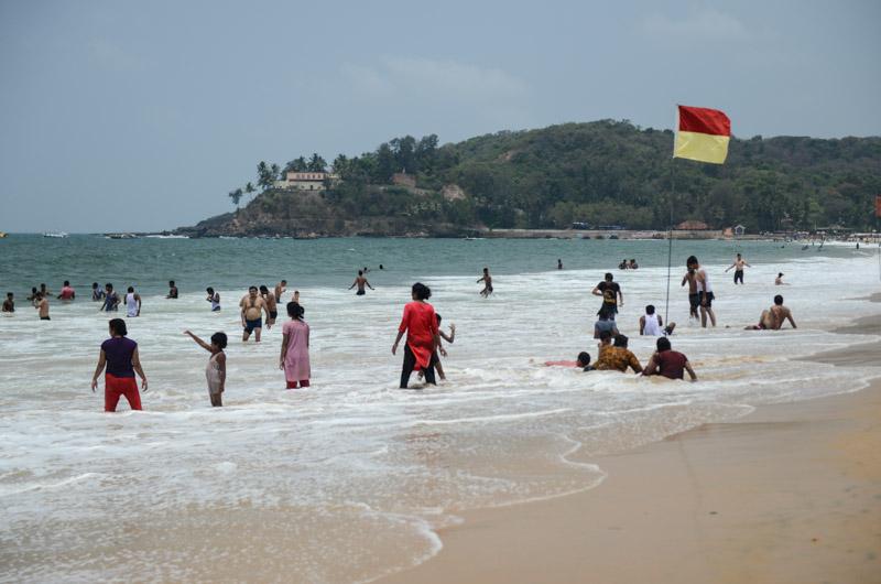 Baga Beach, Goa Beach Guide, die schönsten Strände von Norden nach Süden, Strand, best beaches, Nordgoa, Südgoa, Indien, India, Beach-Hopping, Reisen mit Kindern, Indien mit Kindern, Südasien, Bilder, Fotos, Reiseberichte, www.wo-der-pfeffer-waechst.de