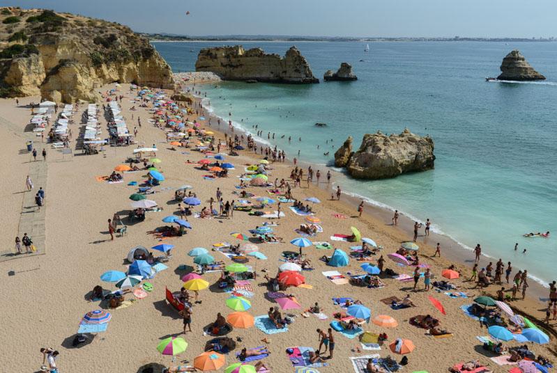 Praia da Dona Ana, Algarve, Portugal, Strand, schönste Strände, best beaches, Felsalgarve, Lagos, Beach-Hopping, Reisen mit Kindern, Südeuropa, Bilder, Fotos, Reiseberichte, Sommerurlaub, www.wo-der-pfeffer-waechst.de