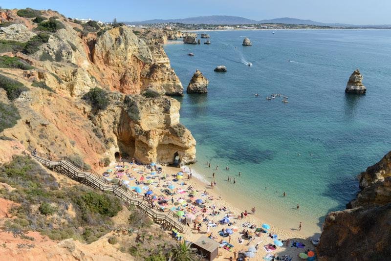 Praia de Camilo, Algarve, Portugal, Strand, schönste Strände, best beaches, Felsalgarve, Lagos, Beach-Hopping, Reisen mit Kindern, Südeuropa, Bilder, Fotos, Reiseberichte, Sommerurlaub, www.wo-der-pfeffer-waechst.de