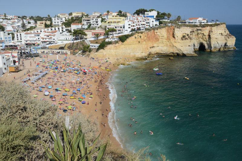 Praia de Carvoeiro, Algarve, Portugal, Strand, schönste Strände, best beaches, Felsalgarve, Beach-Hopping, Reisen mit Kindern, Südeuropa, Bilder, Fotos, Reiseberichte, Sommerurlaub, www.wo-der-pfeffer-waechst.de