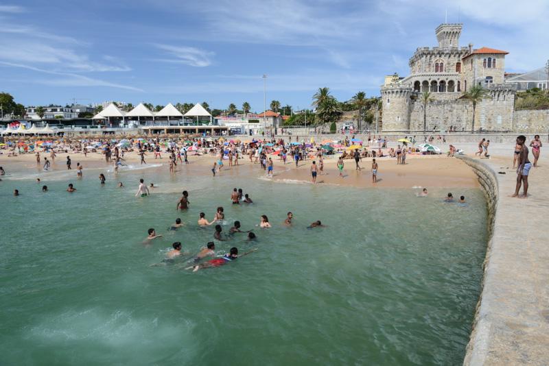 Estoril, Praia do Tamariz, Beach, Strand, Strände, Lissabon, Lisboa, Portugal, Städtetrip, Reisen mit Kindern, Sehenswürdigkeiten, Südeuropa, Bilder, Fotos, Reiseberichte, Sommerurlaub, www.wo-der-pfeffer-waechst.de