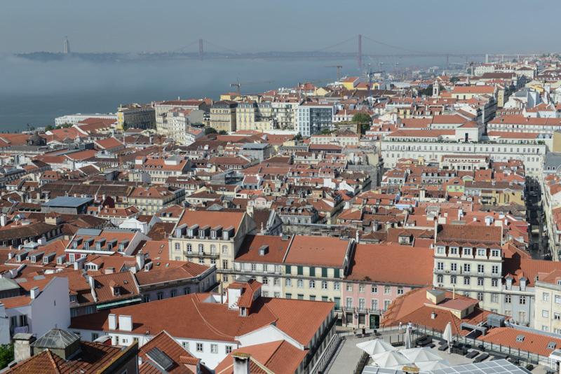 Panoramablick vom Castelo de São Jorge über, Lissabon, Lisboa, view, Portugal, Städtetrip, Reisen mit Kindern, Südeuropa, Bilder, Fotos, Reiseberichte, Sommerurlaub, www.wo-der-pfeffer-waechst.de