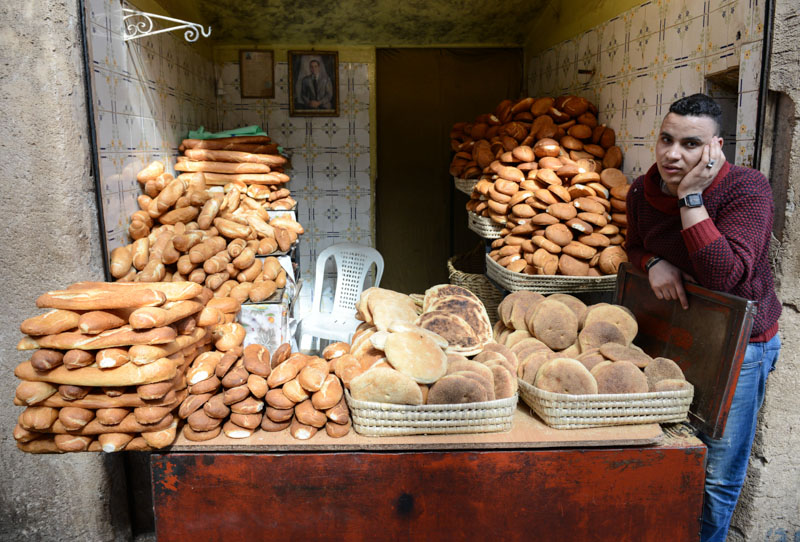 Bakery, Bäckerei, Backshop, Marrakesch, Marokko, Medina, Altstadt, Reisebericht, Reisetipps, Afrika, Reiseblogger, www.wo-der-pfeffer-waechst.de