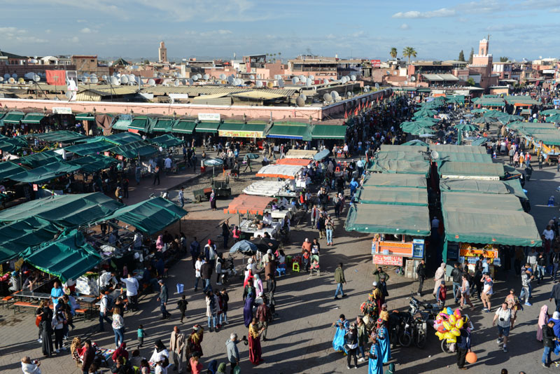 Marrakesch, Marokko, Djemaa el Fna, Platz, Medina, Altstadt, Shopping, Reisebericht, Reisetipps, Afrika, Reiseblogger, www.wo-der-pfeffer-waechst.de