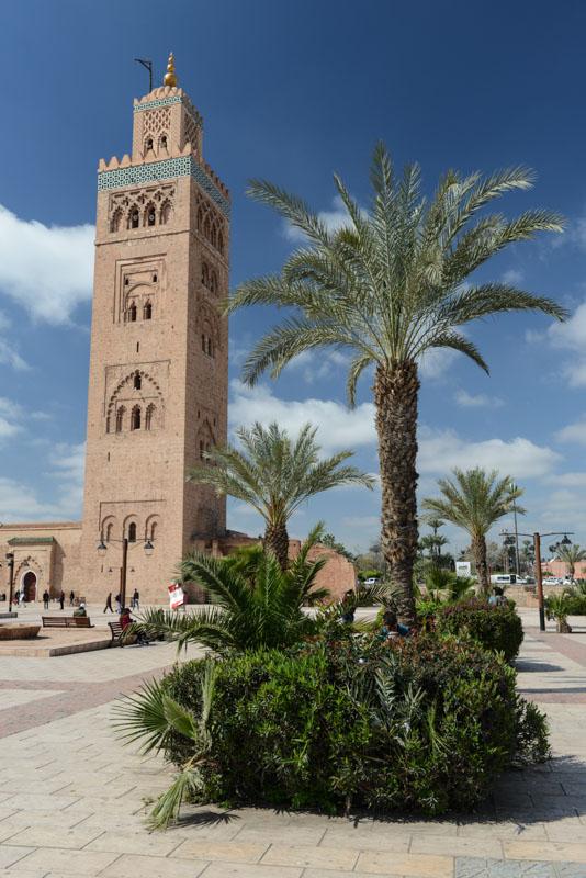 Marrakesch, Marokko, Koutoubia-Moschee, Moschee el Mouassine, mosque, Medina, Altstadt, Reisebericht, Reisetipps, Afrika, Reiseblogger, www.wo-der-pfeffer-waechst.de
