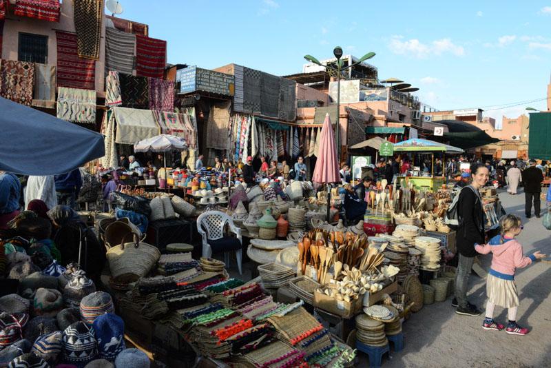 Marrakesch, Marokko, Reisen mit Kindern, Rahba Kedima, Sklavenmarkt, Märkte, Basare, Souks, Suks, Suqs, Medina, Altstadt, Shopping, Reisebericht, Reisetipps, Afrika, Reiseblogger, www.wo-der-pfeffer-waechst.de
