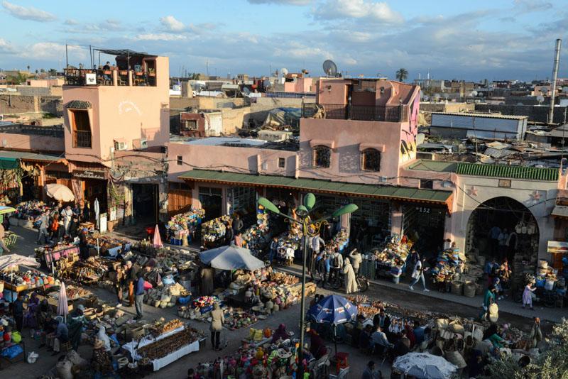 Marrakesch, Marokko, Rahba Kedima, Sklavenmarkt, Café des Epices, Märkte, Basare, Souks, Suks, Suqs, Medina, Altstadt, Shopping, Reisebericht, Reisetipps, Afrika, Reiseblogger, www.wo-der-pfeffer-waechst.de