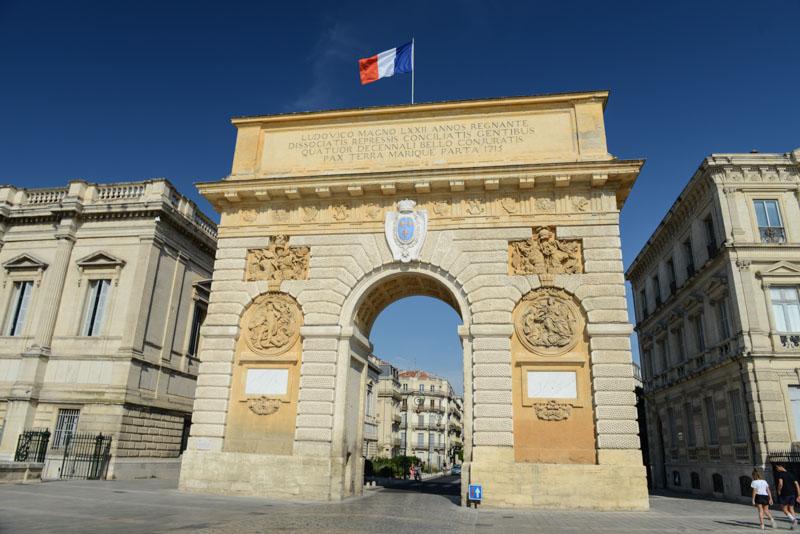 Triumphbogen, Porte du Peyrou, Montpellier, Südfrankreich, France, Reisebericht, Städtetrip, Städtereise, Urlaub, Reisetipps, Reiseblogger, www.wo-der-pfeffer-waechst.de