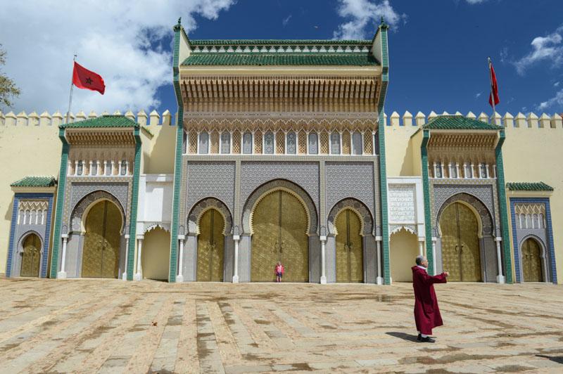 Fes al Djdid, Fès, Fez, Marokko, Königspalast, Dar al Makhzan, royal palace, Reisebericht, www.wo-der-pfeffer-waechst.de