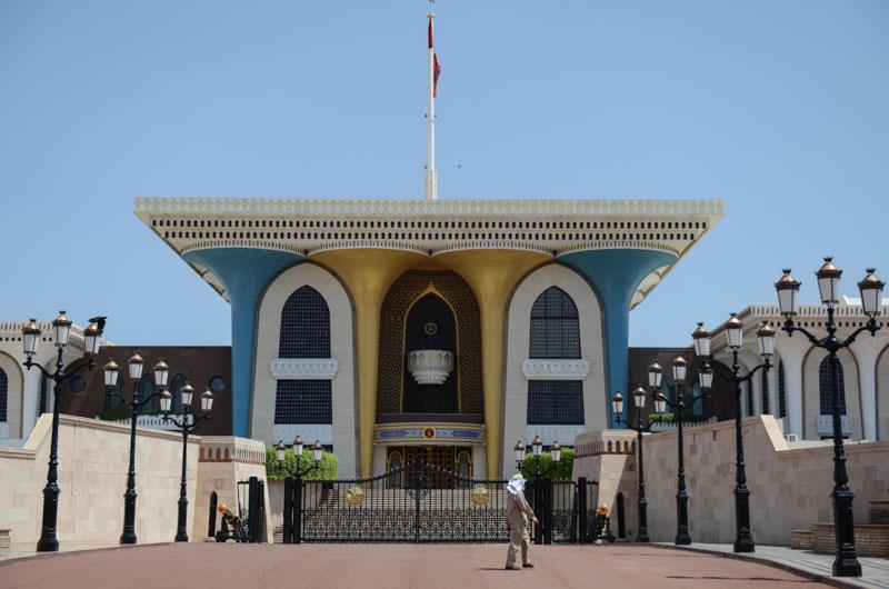 Maskat, Stopover, Muscat, Oman, Al-Alam-Sultanspalast, Reisebericht, www.wo-der-pfeffer-waechst.de