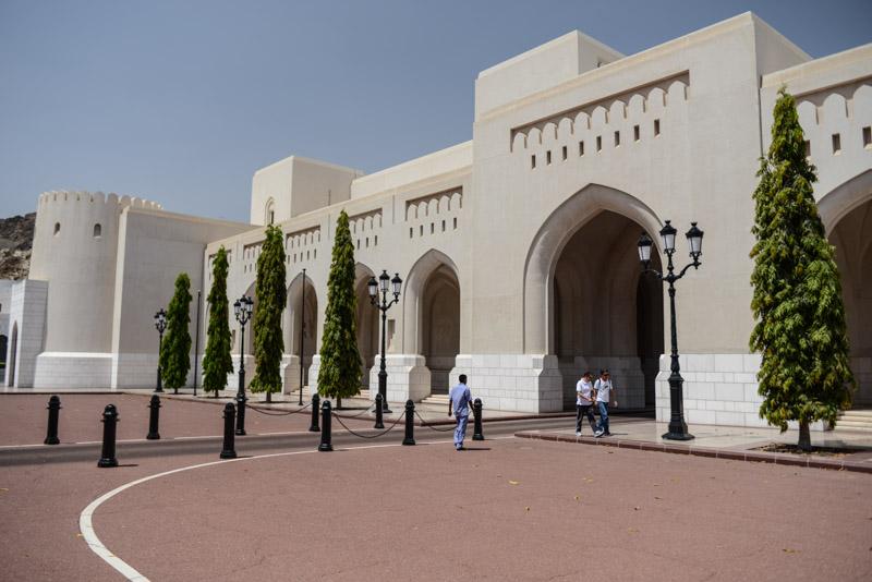 Maskat, Stopover, Muscat, Oman, Regierungsviertel, Reisebericht, www.wo-der-pfeffer-waechst.de