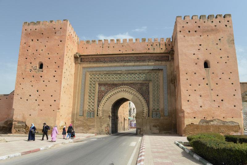 Meknes, Marokko, Bab al Berdain, Stadttor, Königsstädte, Reisebericht, www.wo-der-pfeffer-waechst.de