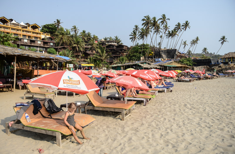 Little Vagator Beach, Ozran Beach, Goa, Strände, Indien, India, Reisen mit Kindern, Südasien, Bilder, Fotos, Reiseberichte, www.wo-der-pfeffer-waechst.de