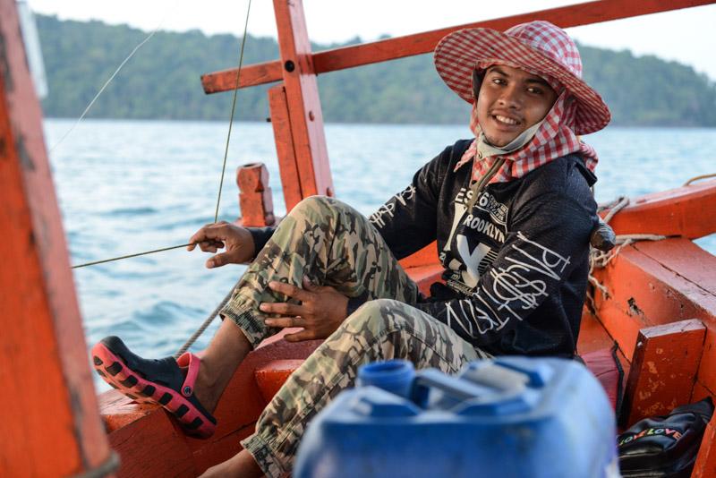 Koh Rong Samloem, Koh Rong Sanloem, Schnorcheltour, Bootstour, Kambodscha, Inseln, Cambodia, Südostasien, Bilder, Fotos, Reiseberichte, www.wo-der-pfeffer-waechst.de