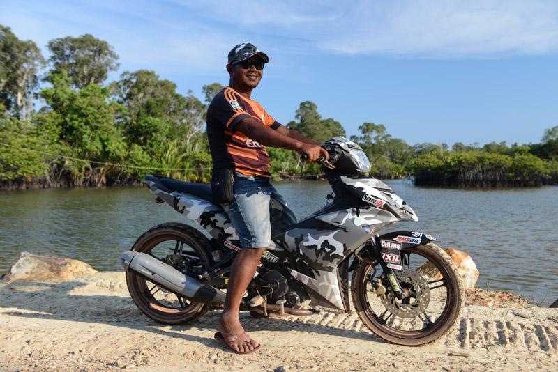 Moorbike, Scooter, Koh Rong, Beach Hopping, Kambodscha, Insel, Strand, die schönsten Strände, Cambodia, Südostasien, Bilder, Fotos, Reiseberichte, www.wo-der-pfeffer-waechst.de